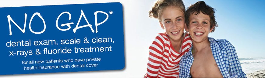"""No Gap November"" for General Dental. Call Today on 6265 2009"